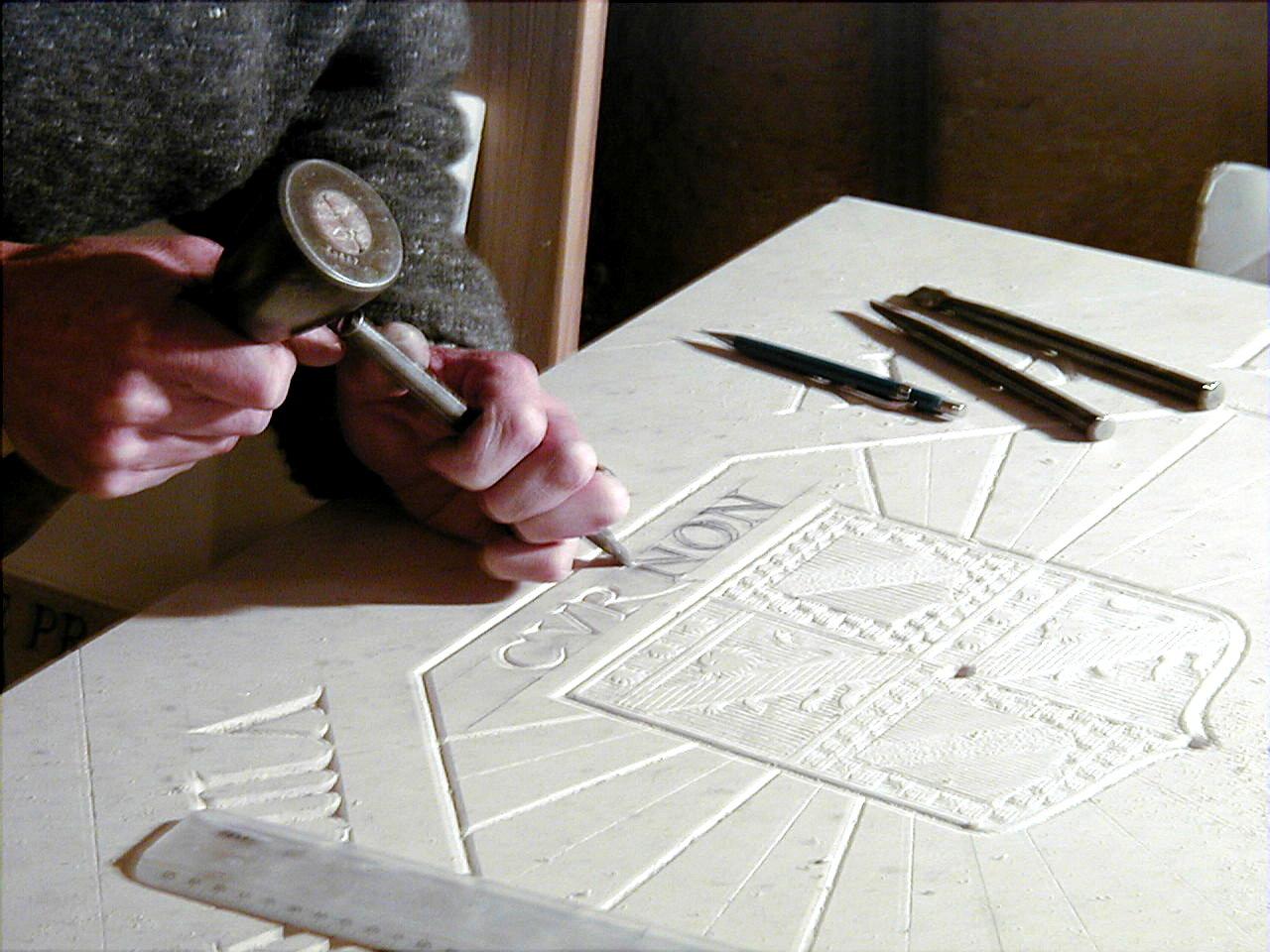 Vollore  gravure devise
